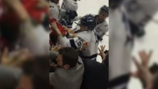 Brawl between Acadia and St. FX