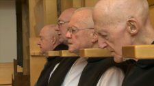 Trappist monks St-Jean-de-Matha