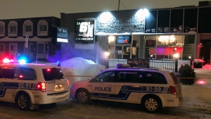 A 37-year-old man was stabbed at Le 6ix bar on Maurice Duplessis Blvd. (CTV Montreal/Cosmo Santamaria)
