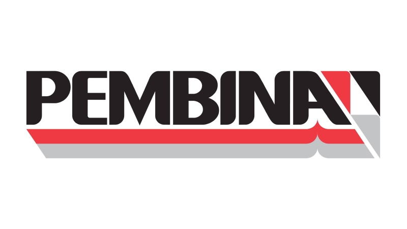 The corporate logo of Pembina Pipeline Corp. is shown in this undated handout photo. (THE CANADIAN PRESS/HO)