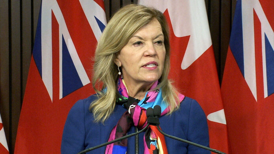 Ont. health minister speaks at Queen's Park