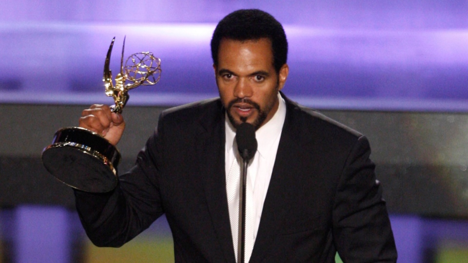 Kristoff St. John at the 35th Annual Daytime Emmy Awards in Los Angeles, on June 20, 2008. (Matt Sayles / AP)