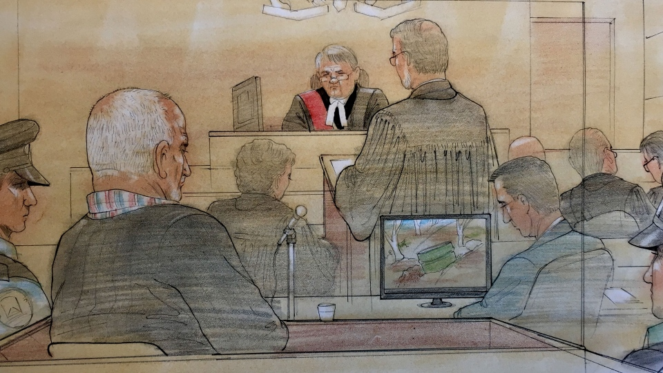 Bruce McArthur is pictured in a Toronto courtroom on Feb. 4, 2019. (Source: John Mantha)