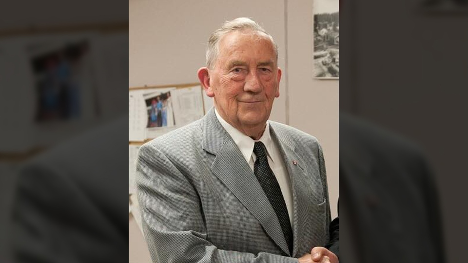 Gerry Furney, one of B.C.'s longest-serving mayors, died Monday, Feb. 4, 2019, at age 85. (Submitted)