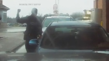 YRP drive-through arrest