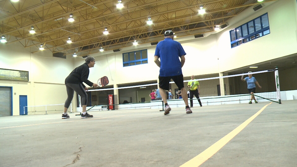 Regina pickleball players will now call part of Evraz Place their home court.