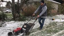 Victoria man winter weather