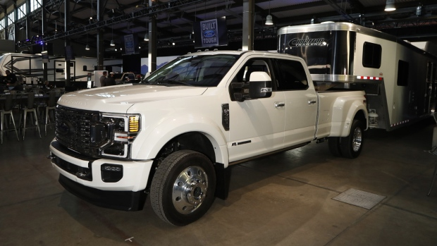 Ford F450 Limited Edition truck