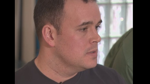 Sgt. Paul Gauthier is shown in a undated image from CTV Toronto footage.
