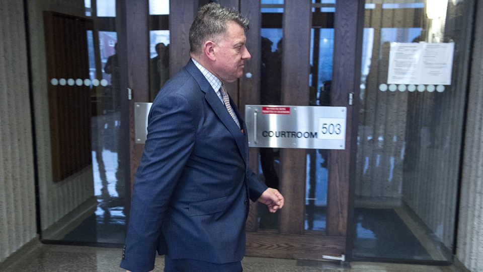 Maurice Chiasson attends Nova Scotia Supreme Court