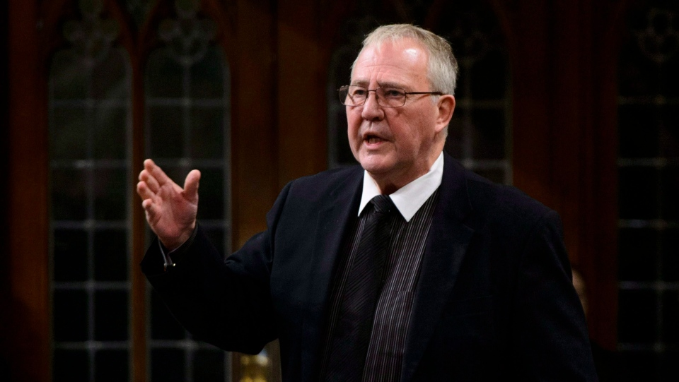 Bill Blair, Minister of Border Security and Organized Crime Reduction, stands during question period in the House of Commons on Parliament Hill in Ottawa on Friday, Dec. 7, 2018. THE CANADIAN PRESS/Sean Kilpatrick