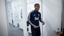 Vancouver Whitecaps defender Derek Cornelius