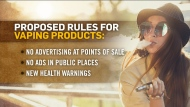 New rules to limit vaping