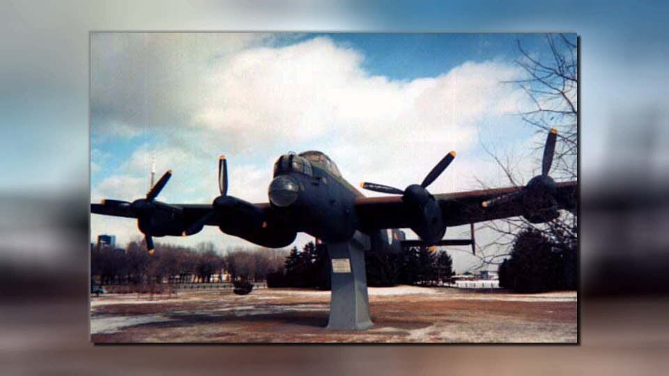 Dozens of volunteers at the BC Aviation Museum are involved in the gargantuan task of restoring a Lancaster bomber to flying condition.