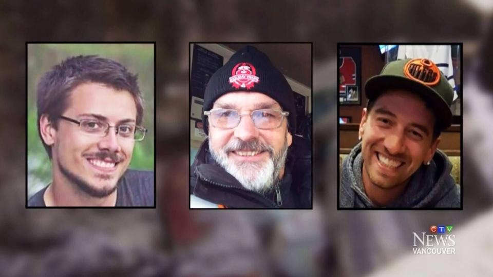 Who were the train crash victims?