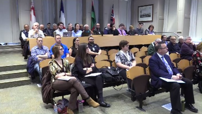 There was a nearly full gallery for Tuesday morning's meeting of Halifax's transportation standing committee, which voted to move a set of sweeping recommendations on to the full council.
