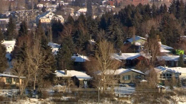 Water pipes burst across Calgary
