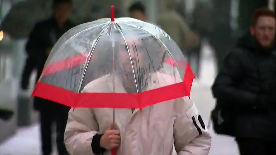 freezing rain Toronto