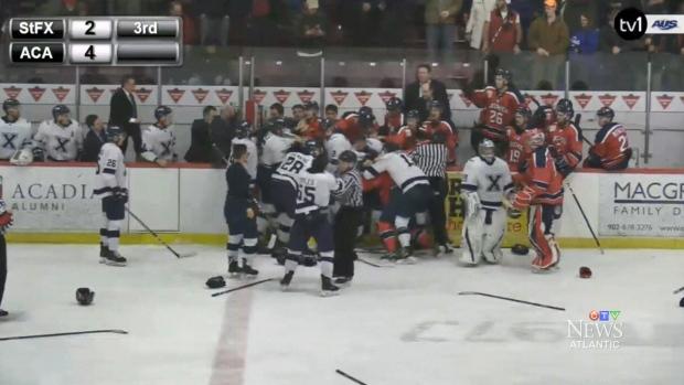 Fallout from hockey brawl