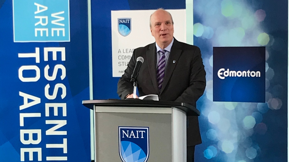 NAIT President and CEO Glenn Feltham said the land acquisition would allow the school to plan for future growth and better meet student needs.