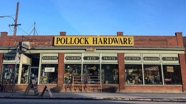 Pollock's Hardware Co-op.