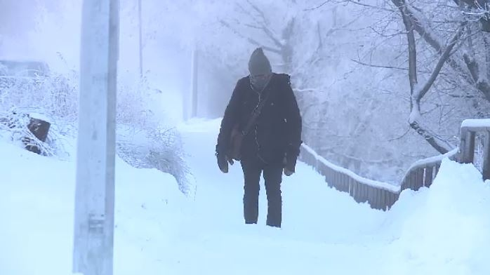 cold weather saskatoon snow