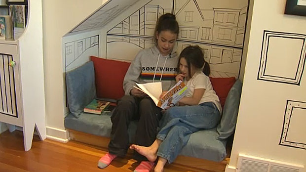 The Children's Reading Place in Inglewood is packed top to bottom with books as well as number of quiet places to enjoy them.
