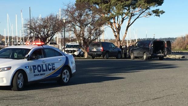Oak Bay Marina parking lot death