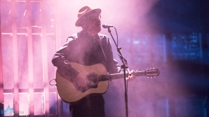 Live Nation presented a Matthew Good solo acoustic show with season one winner of CTV's The Launch, POESY, live at a sold out McPherson Playhouse Tuesday night. (Adam Lee/CTV News Vancouver Island)