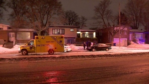 An investigation is underway after two people were found dead in a home on Cavendish Boulevard in Cote St-Luc Wednesday night.