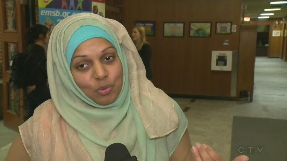 Furheed Ahmed is a Westmount High School teacher who wears a hijab