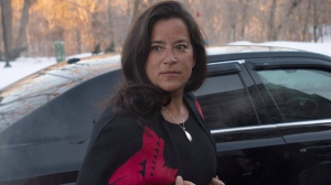 Jody Wilson-Raybould arrives at Rideau Hall in Ottawa, Monday, January 14, 2019 as the governing Liberals shuffle their cabinet. THE CANADIAN PRESS/Adrian Wyld