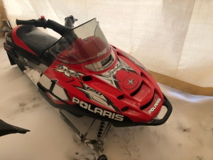 Polaris sled recovered by police