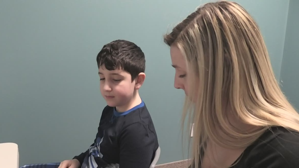 Eight year-old Gabby is on the autism spectrum, but treatment has helped tremendously. (CTV Barrie Rob Cooper)