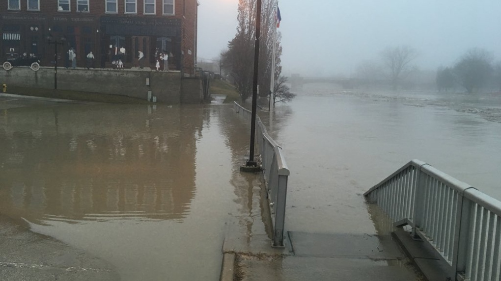 Flooding in Chatham 2019