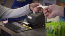 The advocacy group is calling on leading grocery retailers in Canada to ban the use of receipts containing BPA and BPS.
