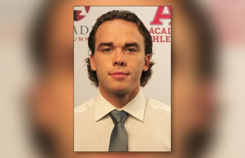 Acadia Axemen hockey player Rodney Southam is pictured in this undated photo. (ACADIA ATHLETICS)