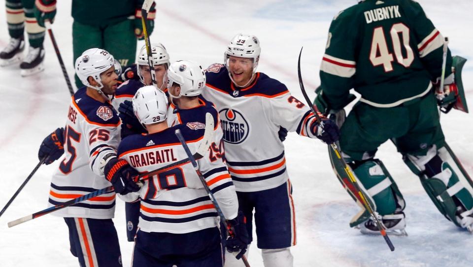 Oilers stop 6-game losing streak with 4-1 win over Wild  10a4c6c68