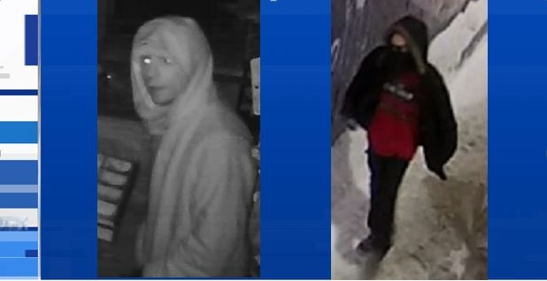 North Bay police are looking to identify these two