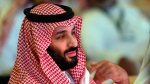 In this Oct. 24, 2018, file photo, Saudi Crown Prince Mohammed bin Salman attends the second day of the Future Investment Initiative conference, in Riyadh, Saudi Arabia. (AP Photo/Amr Nabil, File)