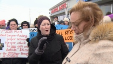 Parents confront Minister MacLeod on autism change