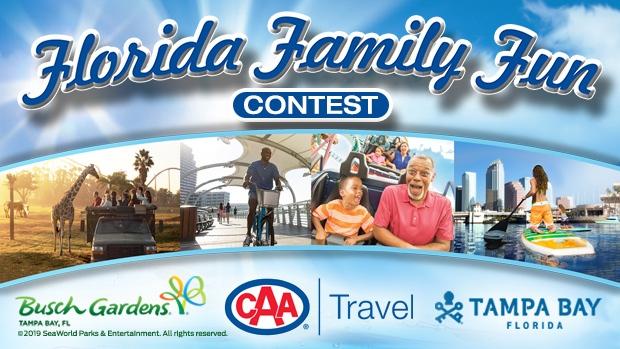 Florida Family Fun Contest header