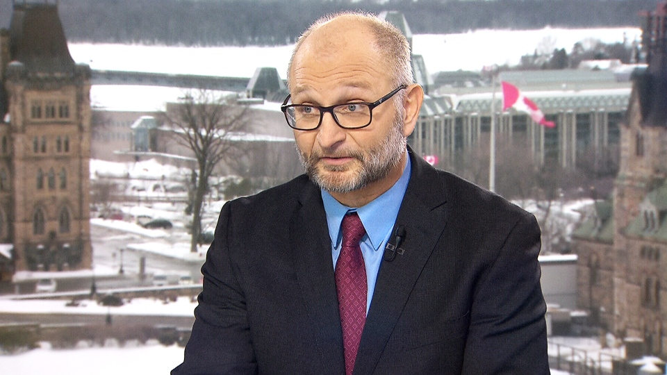 Justice Minister David Lametti on CTV's Question Period.