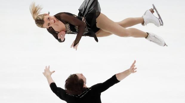Kirsten Moore-Towers and Michael Marinara