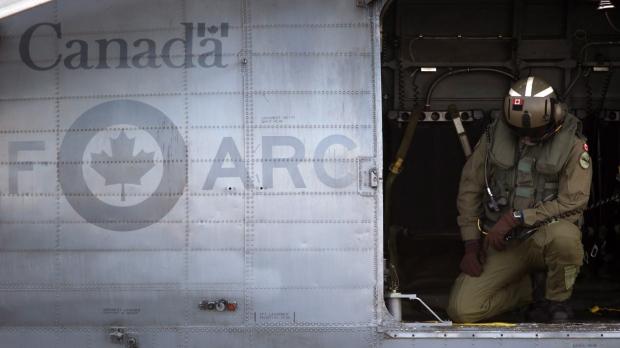RCAF crew member