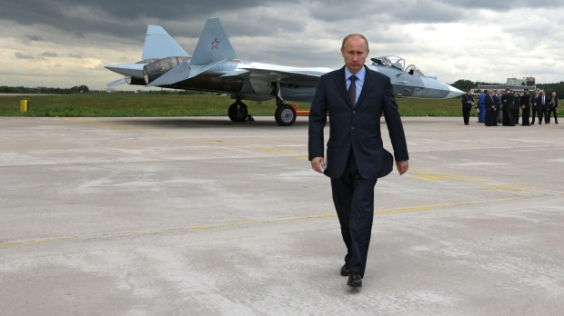 Vladimir Putin in 2010