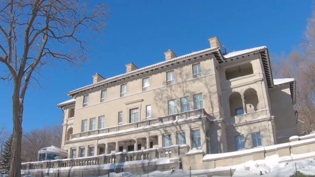The Montreal mansion on the market for $40 million