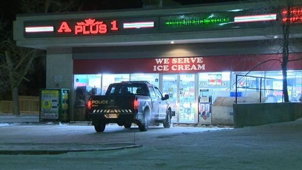 calgary, armed robbery, gun, convenience store, ro