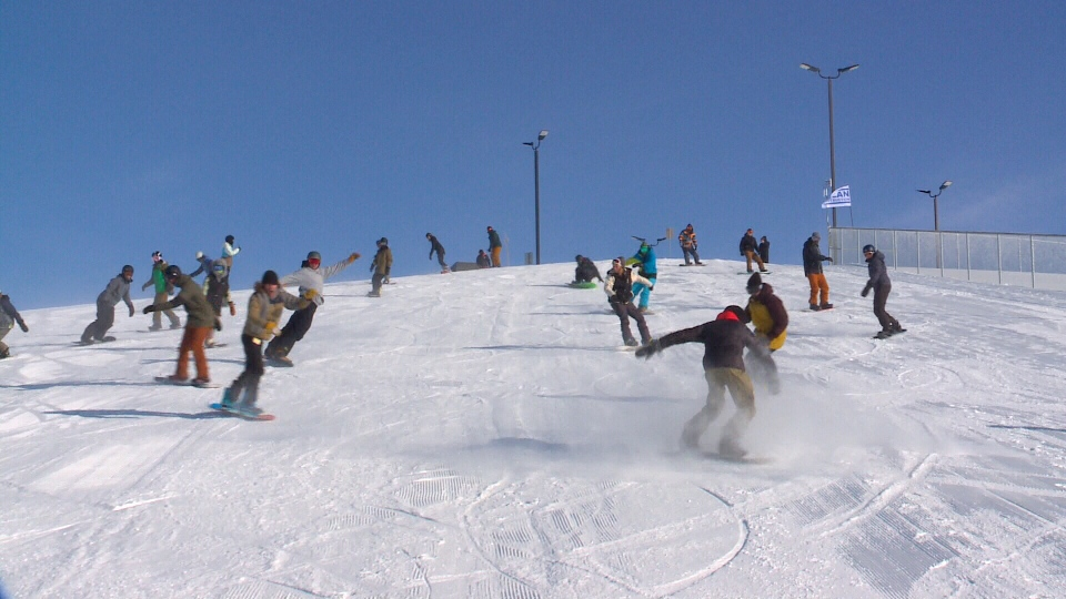 Saskatoon's first ski hill is officially open to skiers, snowboarders, and tubers.