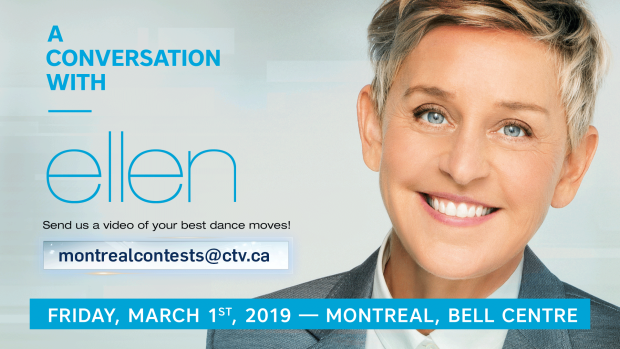 Ellen DeGeneres coming to Toronto for two Q&A events
